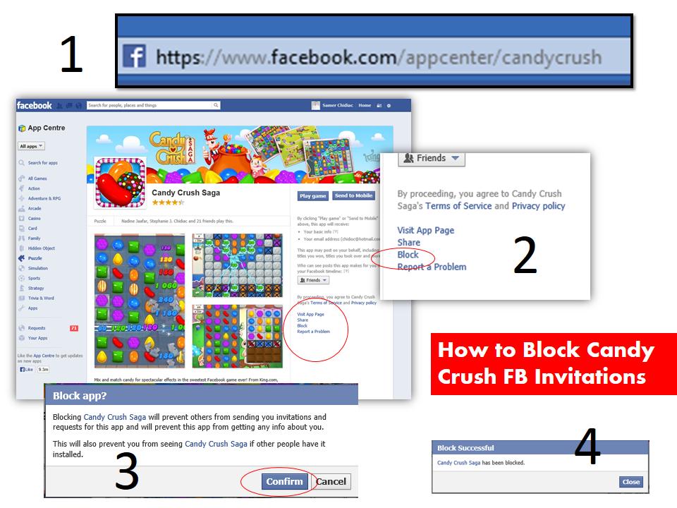 Candy Crush Invites