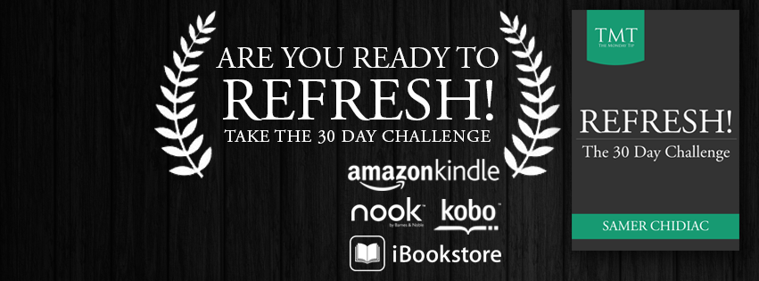 Refresh the 30 day Challenge